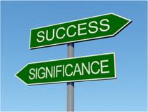 success and signifi arrows