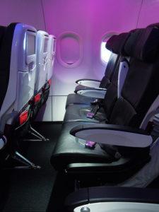 plane row