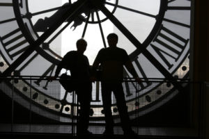 clock at the orsay museum