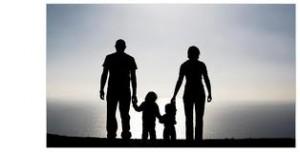 b_w parents with kids