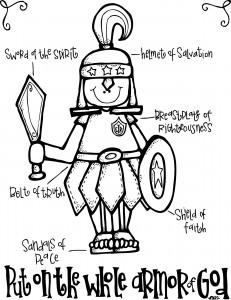 Armor of God bw